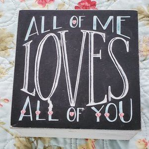 Keepsake Gift Box All of Me Loves All of You